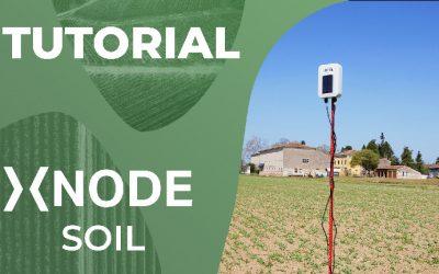 Sensore di umidità e temperatura del suolo xNode Soil