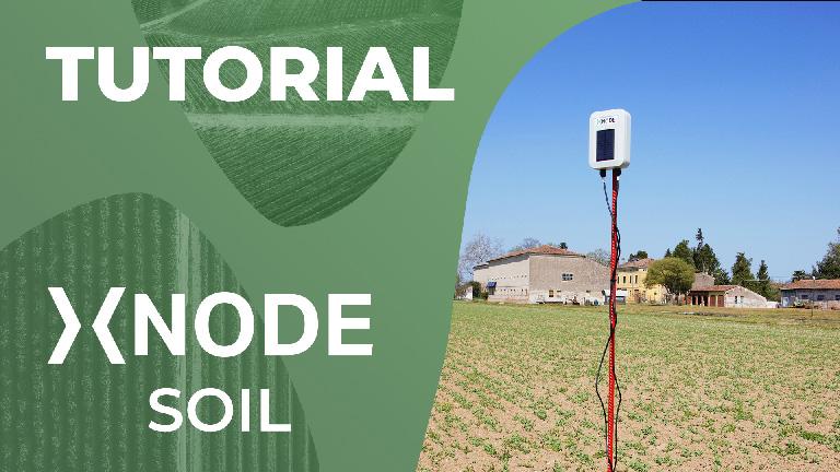 Sensore di umidità e temperatura del suolo