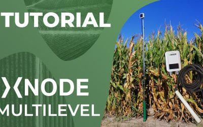 Sensore di umidità, conducibilità e temperatura del suolo xNode Multilevel