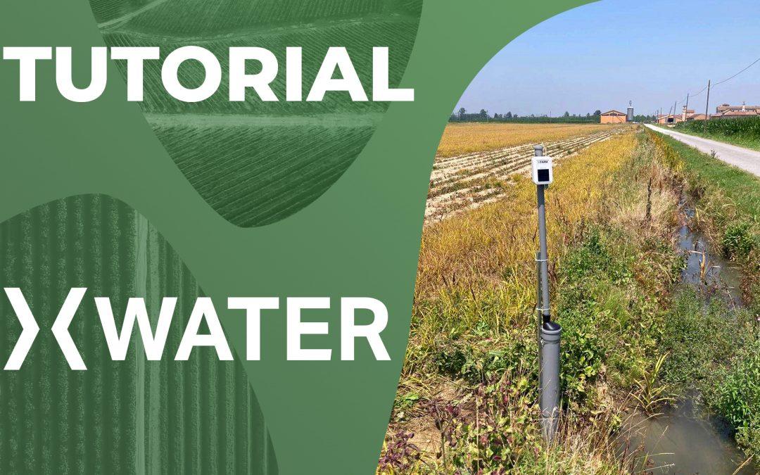 Sensore di livello e temperatura dell'acqua xWater – Installazione
